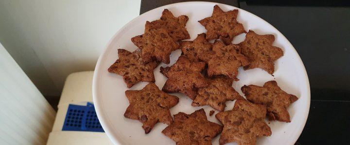 Vegan choco chip koekjes