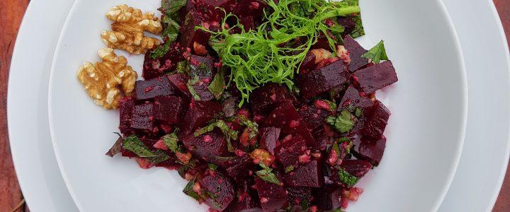 Griekse Pantzaria Salata met een twist